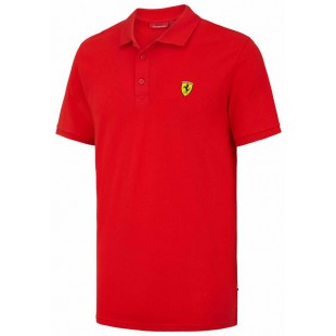 Formule 1 - Polo tričko Ferrari Classic - červené