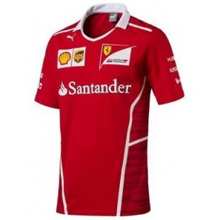 Formule 1 - Týmové tričko Ferrari Replica - červené