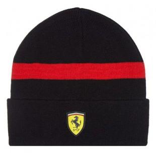 Formule 1 - Zimní čepice Ferrari - černá