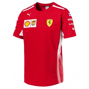 Formule 1 - Týmové tričko Ferrari - Kimi Räikkönen Replica