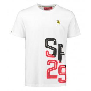 Formule 1 - Tričko Scuderia Ferrari 29 - bílé