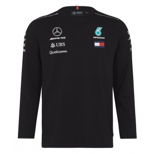 Formule 1 - Týmové triko Mercedes AMG Petronas - černé