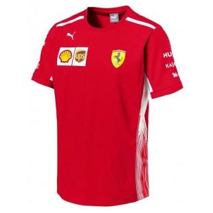 Formule 1 - Týmové tričko Ferrari - červené