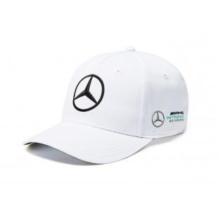 Formule 1 - Týmová kšiltovka Mercedes AMG Petronas - bílá