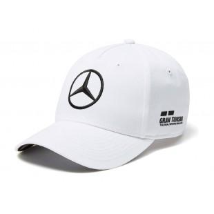 "Formule 1 - Kšiltovka Lewis Hamilton ""Replica"" - bílá"