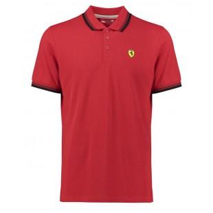 Formule 1 - Polo tričko Scuderia Ferrari - červené