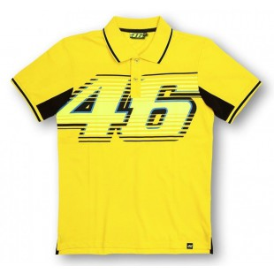 MotoGP - Polo tričko Valentino Rossi VR46 - žluté