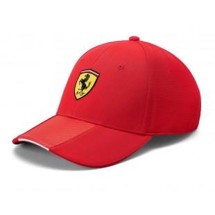 Formule 1 - Kšiltovka Ferrari Scudetto Carbon - červená