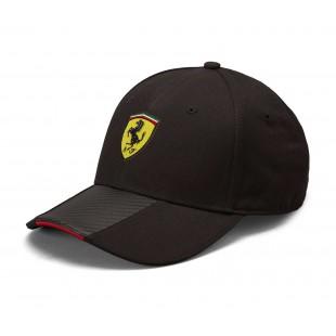 Formule 1 - Kšiltovka Ferrari Scudetto Carbon - černá