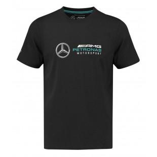 Formule 1 - Tričko Mercedes AMG Petronas F1 - černé