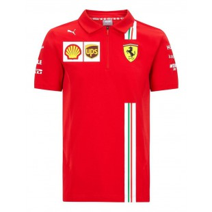 Formule 1 - Týmové polo tričko Ferrari Replica