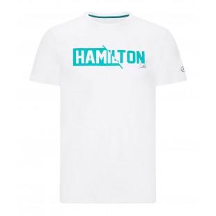 "Formule 1 - Tričko Lewis Hamilton ""44"" - bílé"