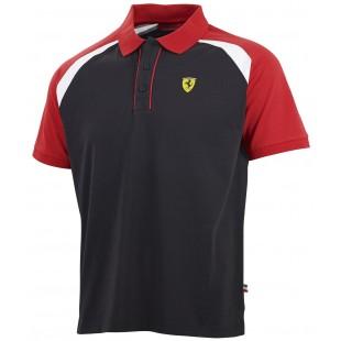 Formule 1 - Polo tričko Ferrari Race - černé