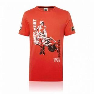 Formule 1 - Tričko James Hunt - červené