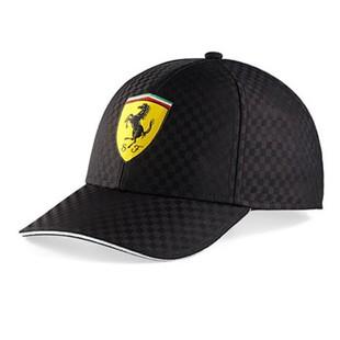 Formule 1 - Kšiltovka Ferrari Racing Check - černá