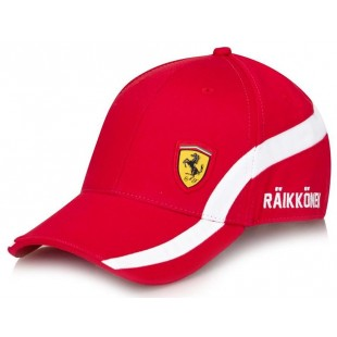 "Formule 1 - Kšiltovka Ferrari ""Räikkönen no. 7"" - červená"