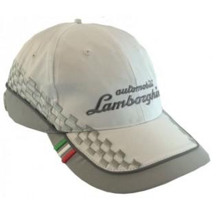 Motorsport - Kšiltovka Lamborghini - bílá