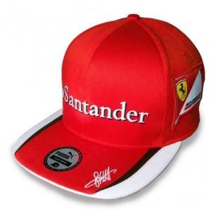 Formule 1 - Kšiltovka Sebastian Vettel Replica - plochý kšilt