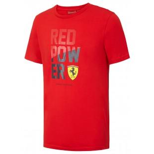Formule 1 - Tričko Ferrari RED POWER - červené