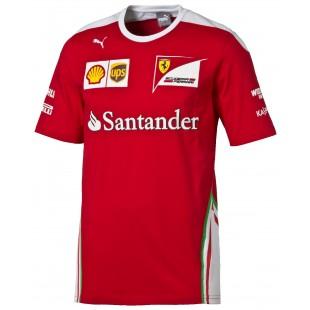 Formule 1 - Týmové tričko Ferrari Replica