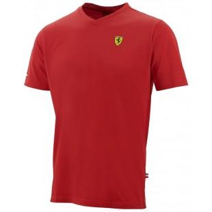 """Formule 1 - Tričko Ferrari """"V"""" - červené"""