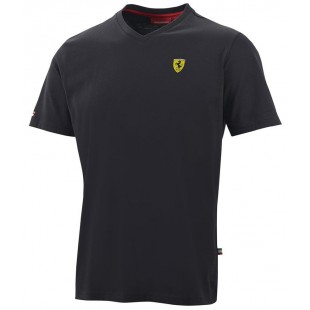 "Formule 1 - Tričko Ferrari ""V"" - černé"