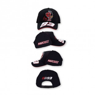 MotoGP - Kšiltovka Marc Marquez - černá