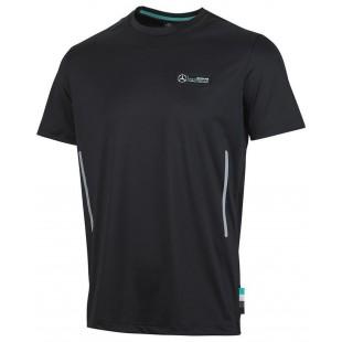 Formule 1 - Funkční tričko Mercedes AMG Petronas - černé