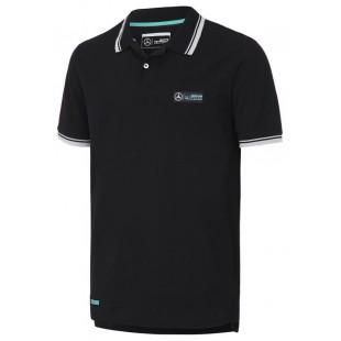 "Formule 1 - Polo tričko Mercedes AMG ""Classic"" - černé"
