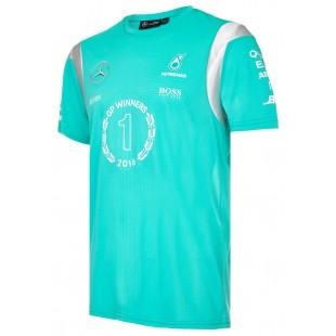 "Formule 1 - Týmové tričko Mercedes AMG Petronas ""Race Winner"""