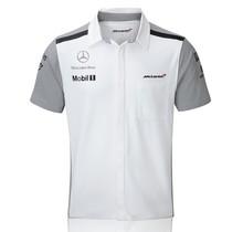Týmová košile McLaren - bílá - S