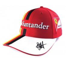 Kšiltovka Sebastian Vettel Replica - červená
