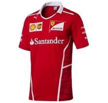 Týmové tričko Ferrari Replica - červené