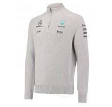 Týmový svetr Mercedes AMG F1 - šedý