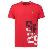 Tričko Scuderia Ferrari 29 - červené