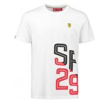 Tričko Scuderia Ferrari 29 - bílé