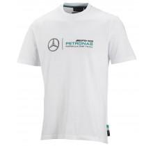 Tričko Mercedes AMG Petronas - bílé