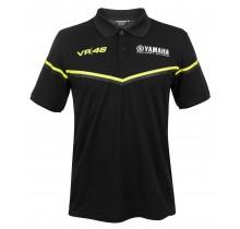 Polo tričko Valentino Rossi VR46 - černé