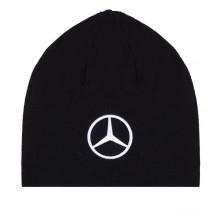 Zimní čepice Mercedes AMG Petronas - černá