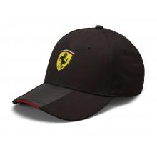 Kšiltovka Ferrari Scudetto Carbon - černá