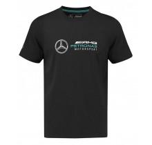 Tričko Mercedes AMG Petronas F1 - černé