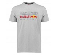Tričko Red Bull Racing Classic - šedé