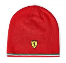 Zimní čepice Scuderia Ferrari - červená