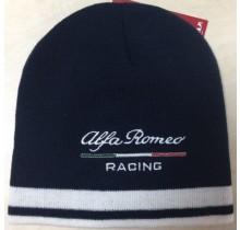 Zimní čepice Alfa Romeo - modrá