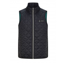 Týmová vesta Mercedes AMG Petronas - černá