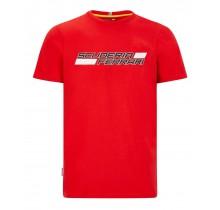 Tričko Scuderia Ferrari - červené