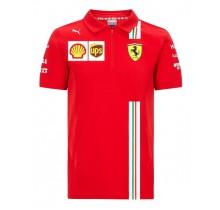 Týmové polo tričko Ferrari Replica