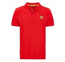 Polo tričko Ferrari Classic - červené