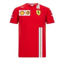 Týmové tričko Ferrari - Sebastian Vettel Replica