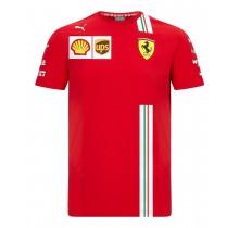 Týmové tričko Ferrari - Charles Leclerc Replica